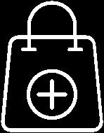 Cart bag icon