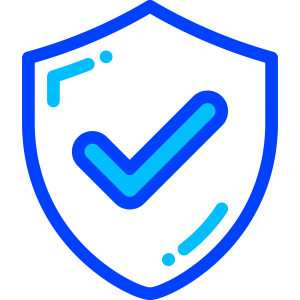 icon of a shield with a checkmark inside